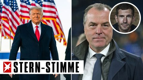 Donald Trump (l.) und Clemens Tönnies