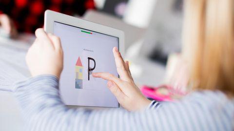 Schreibenlernen auf dem Tablet perDistanzunterricht