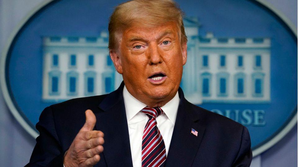 Donald Trump, ehemaliger Präsident der USA