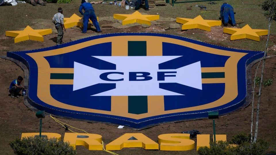 Logo des Brasilianischen Fußballverbands CBF
