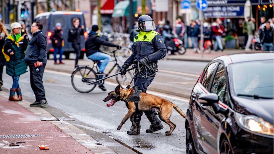 Die Morgenlage: Ausschreitungen in den Niederlanden