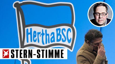 stern-Stimme Philipp Köster über Hertha BSC nach dem Aus von Trainer Labbadia