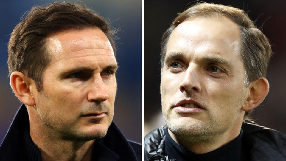 Frank Lampard und Thomas Tuchel