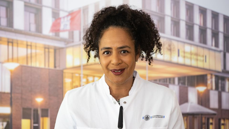 Leiterin der Infektiologie, Professor Dr. Marylyn Addo