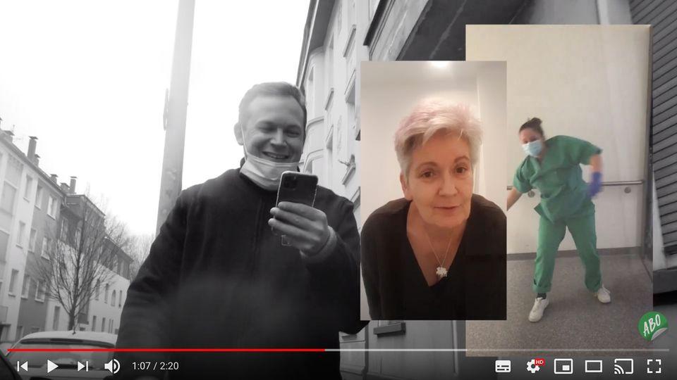 Youtuber veröffentlicht Song zu stern-Pflegepetition