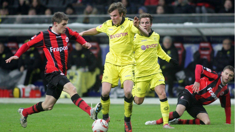 Kevin Großkreutz von Borussia Dortmund im Spiel gegen Eintracht Frankfurt