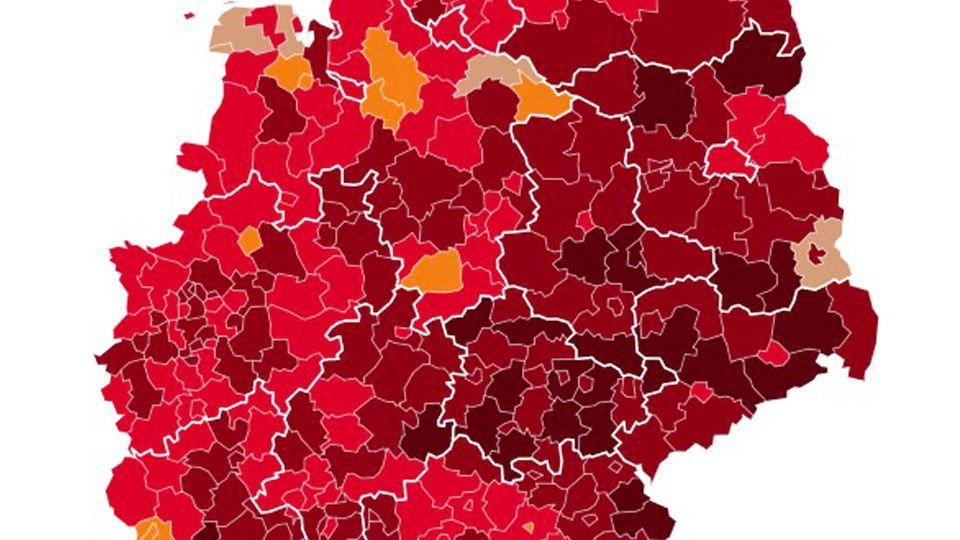 Coronazahlen in Deutschland und Mutation