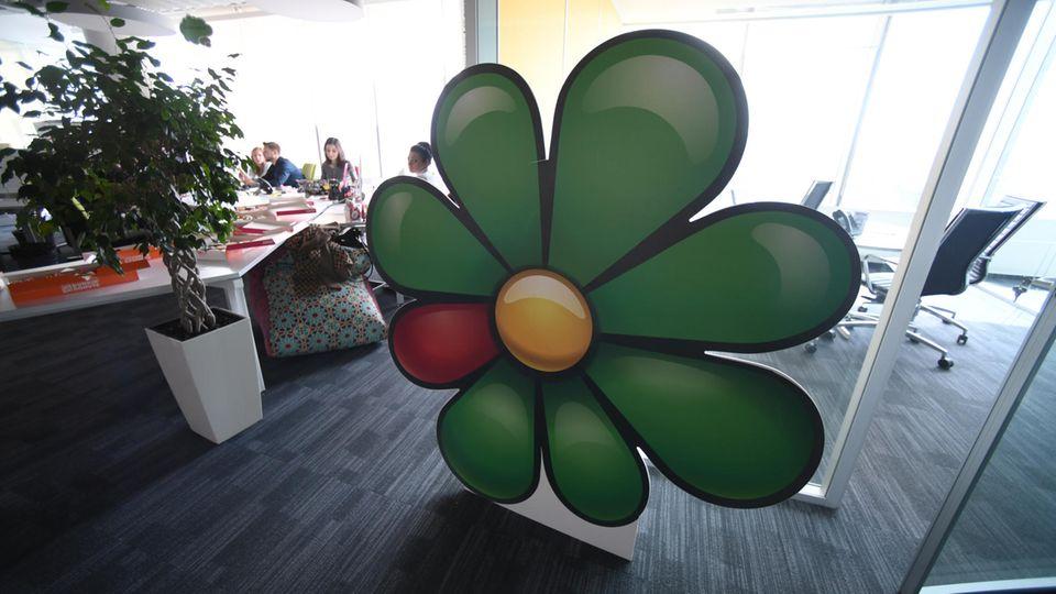 Die ICQ-Blume ist wieder auf mehr Smartphones zu sehen, vor allem in Hong Kong