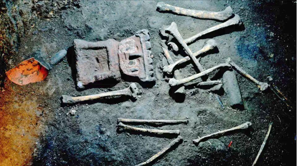 Auf dem Boden der Zisternen versteckten die Einwohner die Überreste der Spanier.