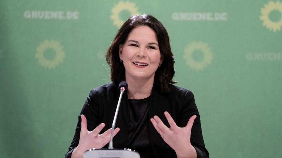 """Grünen-Chefin : Annalena Baerbock: """"Die CDU hat kein Abo aufs Kanzleramt"""""""