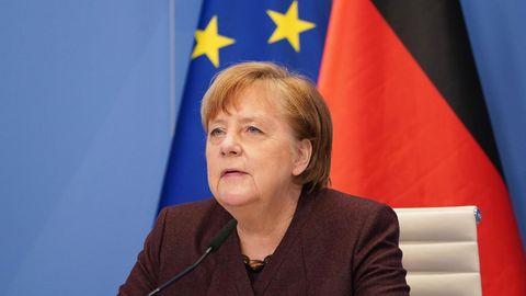 """Davos: Merkel über Corona-Egoismus: """"Wir haben alle am Anfang Fehler gemacht"""""""
