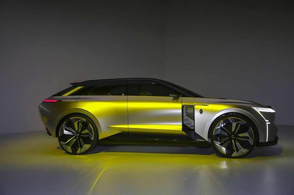 Die Studie Renault Morphoz deutet an, wie flexibel die CMF-EV-Plattform ist