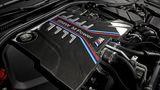 Der V8-Biturbo leistet 467 kW / 635 PS und damit 7 kW / 10 PS mehr als im Competition