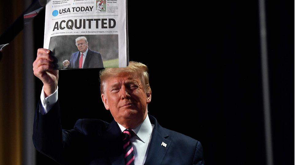 Donald Trump Amtsenthebung