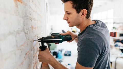 Schwer wird es, wenn man auf Beton stößt (Symbolbild)