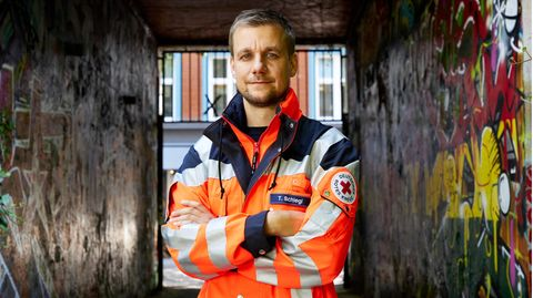 Tobi Schlegl über seine Arbeit im Rettungsdienst