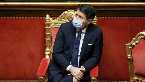 Giuseppe Conte, der zurückgetretene Ministerpräsident von Italien