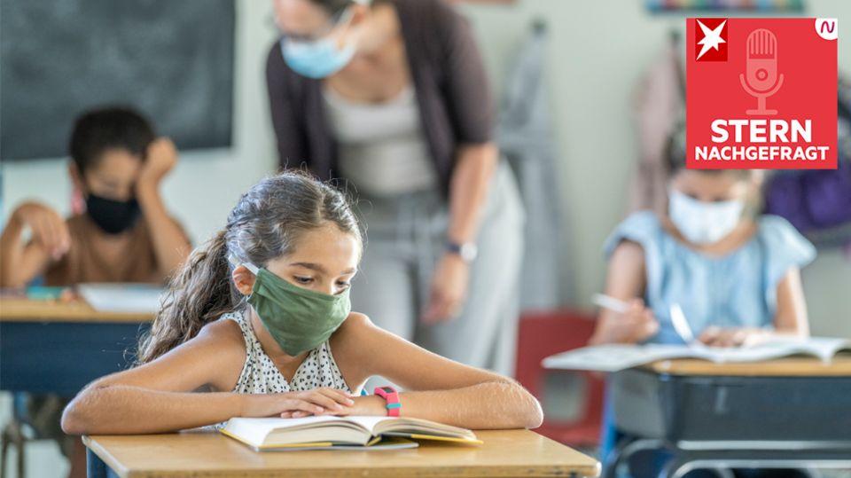"""Podcast """"STERN nachgefragt"""": Sollte das Schuljahr wiederholt werden?"""
