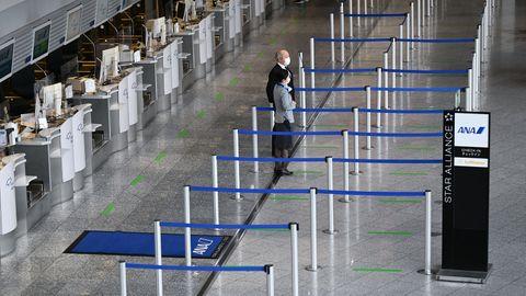 Vergebliches Warten auf Passagiere an deutschen Flughäfen