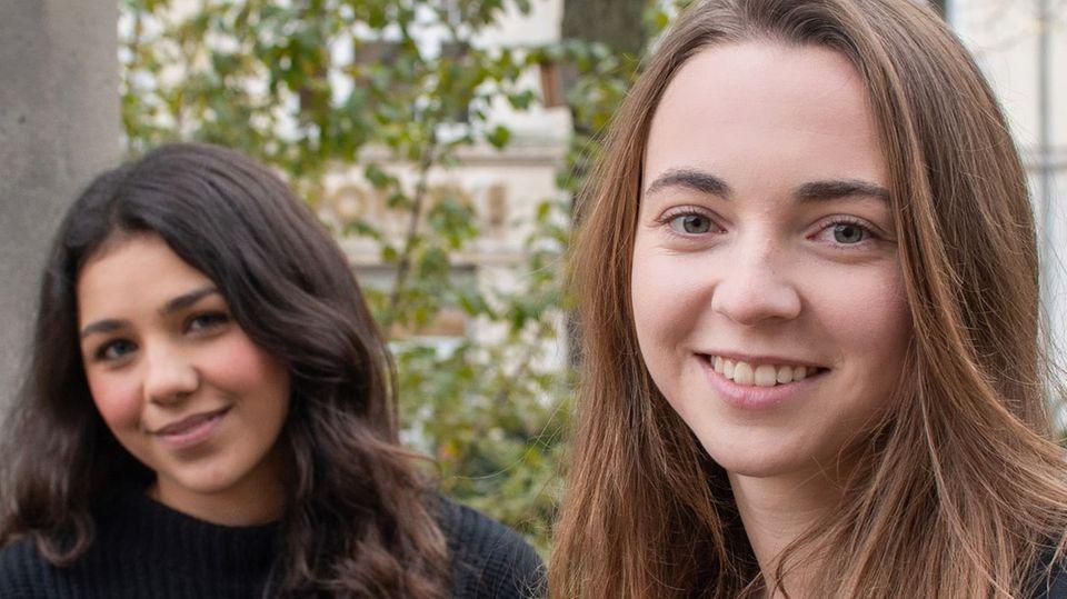 Rita Maglio und Jana Pfenning