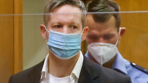 Der Hauptangeklagte imProzess um den Mord an Walter Lübcke,Stephan Ernst, im Gerichtssaal inFrankfurt am Main