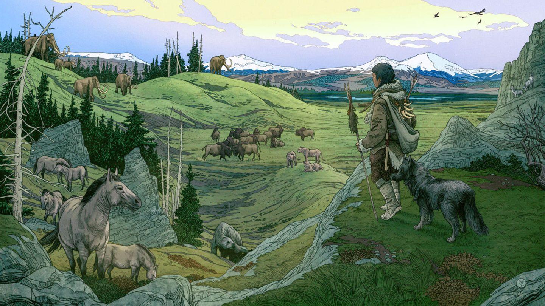 In einer kleinen Insel der Fruchtbarkeit haben sich Wölfe und Menschen aneinander gewöhnt.