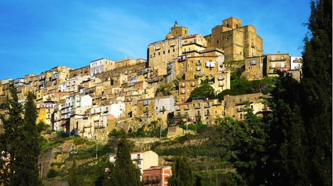 Troina auf Sizilien