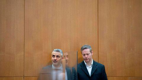 Lübcke-Urteil Stephan Ernst mit Anwalt