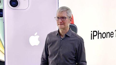 Apple-Chef Tim Cook betont seit Jahren die Bedeutung von Datenschutz