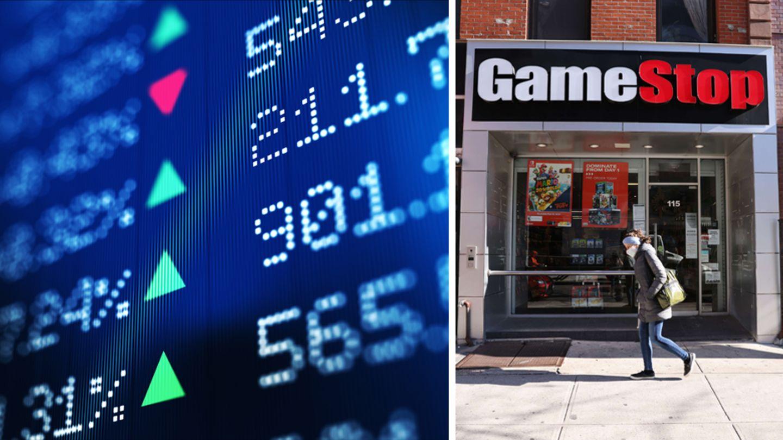 Eine Filiale des Computerspielhändlers Gamestop