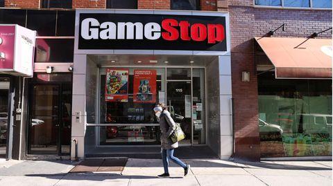 Gamestop-Shop im New Yorker Stadtteil Brooklyn