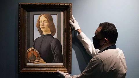 Botticelli-Gemälde für mehr als 92 Millionen US-Dollar versteigert