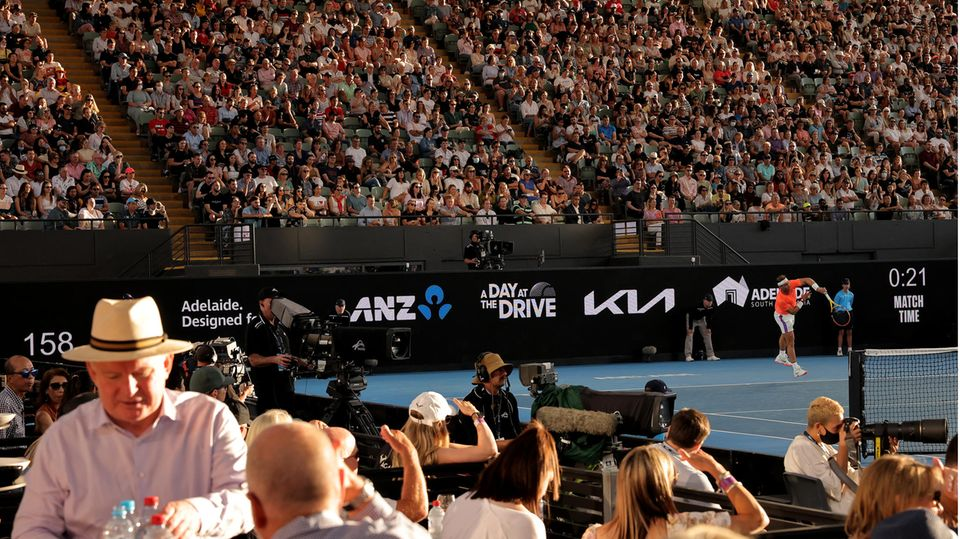 Tennis-Stadion in Adelaide