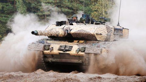 Das Abwehrsystem sollen Leopard-Panzer vom Typ2 A7 erhalten.