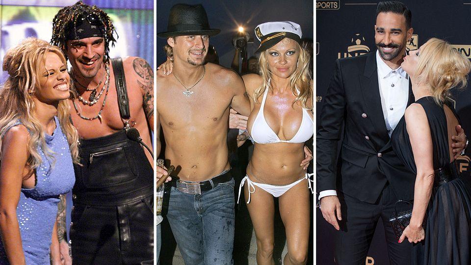 Pamela Anderson und ihre Männer