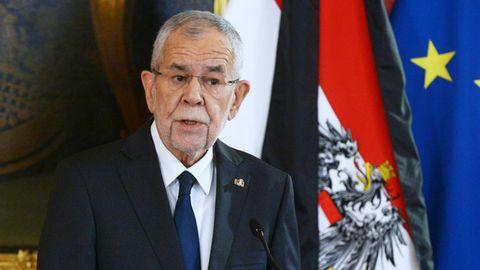 Der österreichische Bundespräsident Alexander van der Bellen