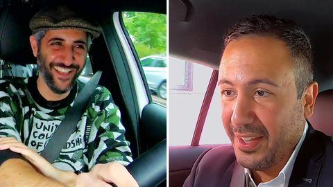 Alman-Taxi mit SPD-Politiker Baris Önes
