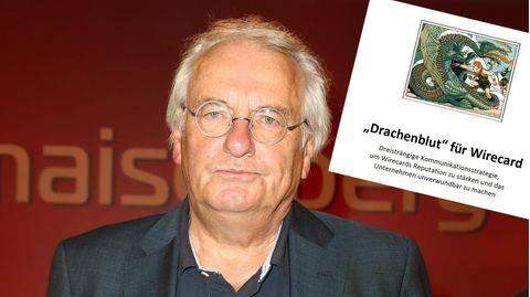 """Hans-Hermann Tiedje, Medienmanager und früherer Chefredakteur der """"Bild""""-Zeitung"""