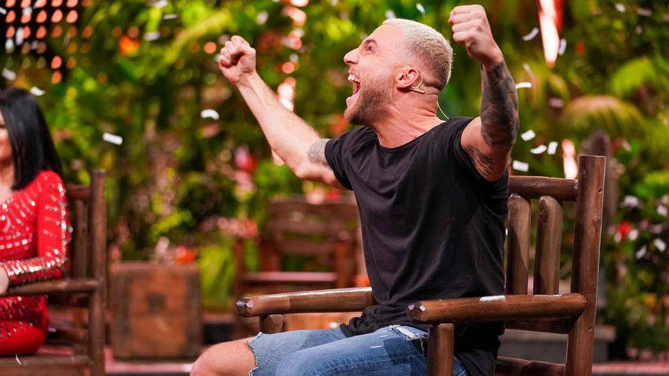 """Filip Pavlovic verließ die """"Dschungelshow"""" als Sieger - und darf nun nächstes Jahr ins echte Dschungelcamp"""