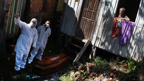 Die brasilianische Stadt Manaus ist erneut heftig vom Coronavirus betroffen