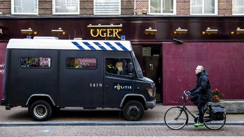 Leiden: In den Niederlanden kam es letzte Woche immer wieder zu gewalttätigen Ausschreitungen