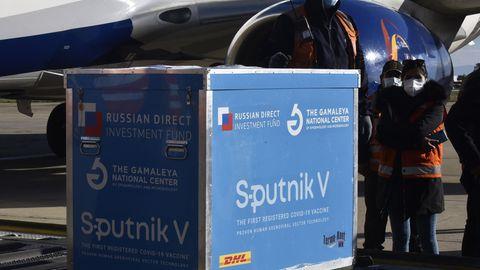 """""""Sputnik V""""-Coronavirus-Impfstoff"""