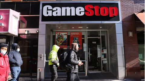 Gamestop-Filiale in Brooklyn