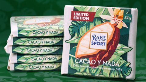 Die neue Ritter-Sport-Sorte enthält keinen Zucker und darf deshalb nicht Schokolade heißen