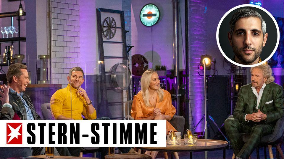 """In der WDR-Talkrunde """"Die letzte Instanz"""" diskutierten Jürgen Milski, Micky Beisenherz, Janine Kunze und Thomas Gottschalk über das Thema Rassismus."""