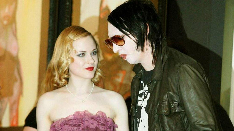 Schauspielerin Evan Rachel Wood mit Marilyn Manson