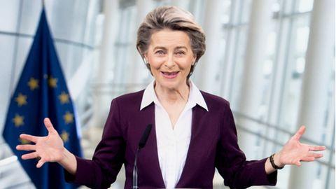 Ursula von der Leyen (CDU), Präsidentin der Europäischen Kommission