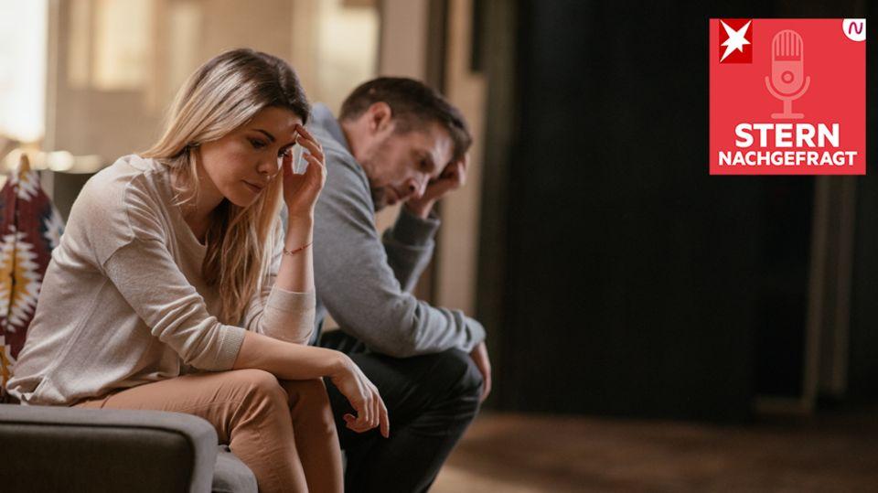 """Podcast """"STERN nachgefragt"""": Paare an der Belastungsgrenze - Kommt nach Corona die Scheidung?"""