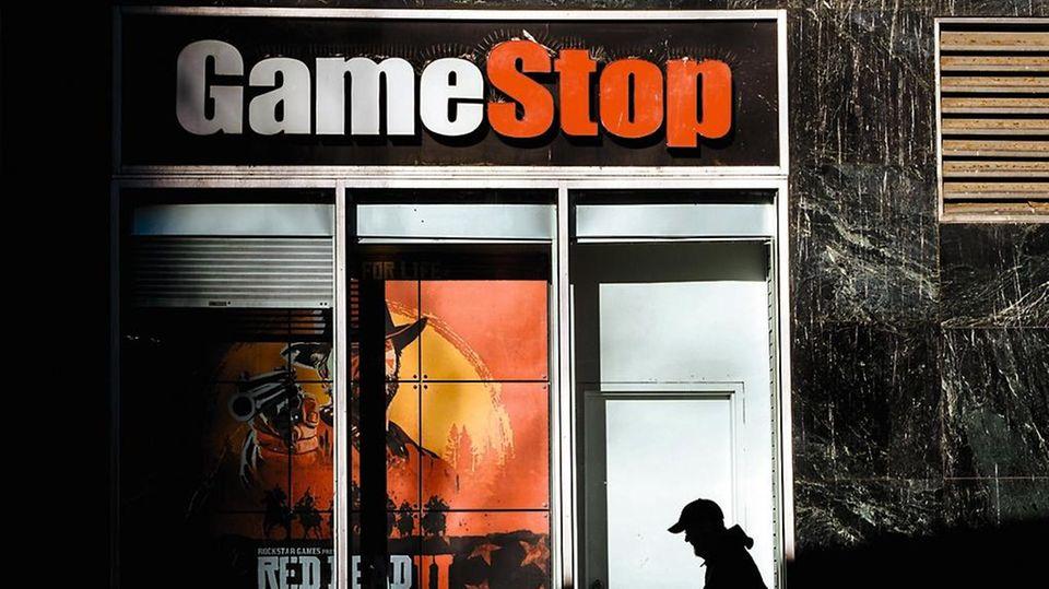 Die Aktie des Videospielhändlers Gamestop wurde zur Waffe