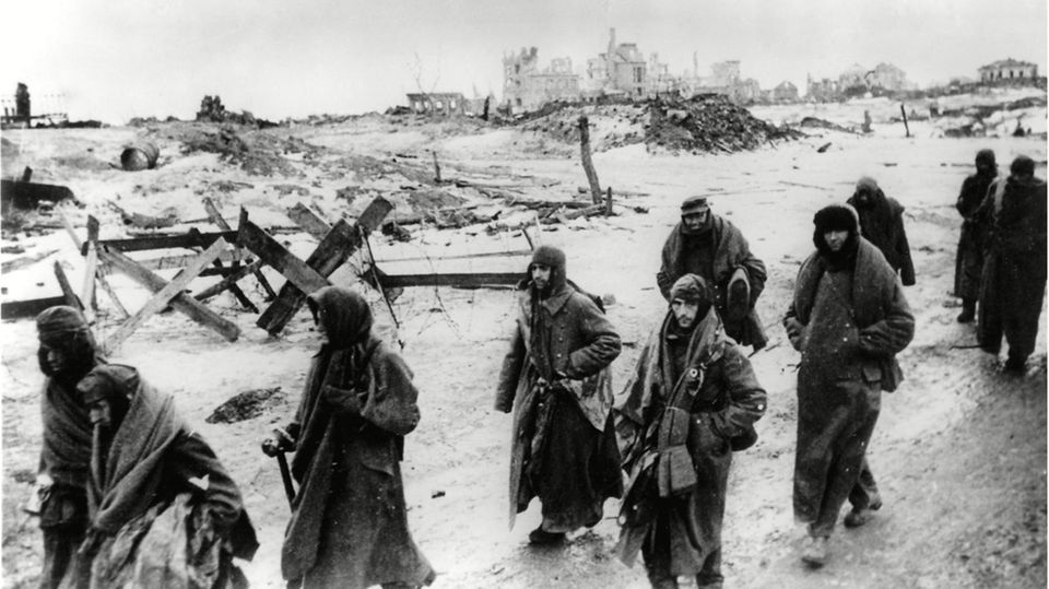 Pozostałości Szóstej Armii